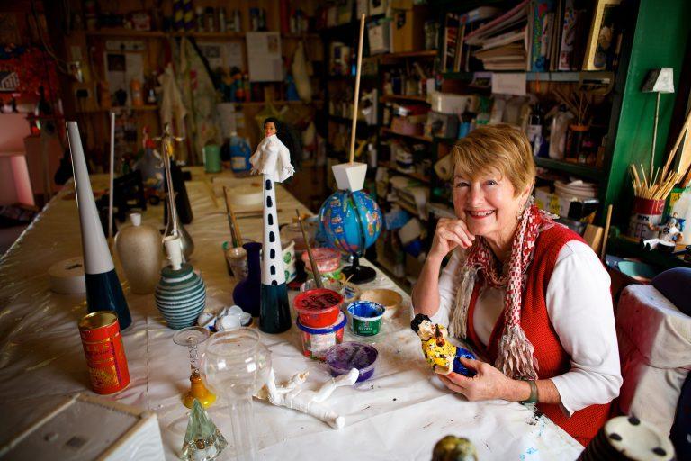 Mim Kocher will open her studio this Spring.