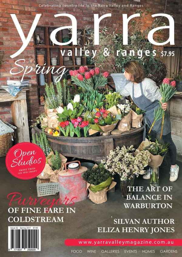 Yarra Valley Ranges Country Life magazine Spring 2017 Yarra