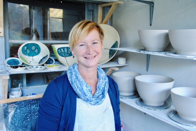Pottery artist Corina Horstra